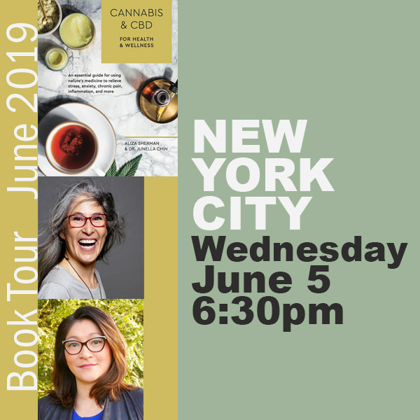 Cannabis Book Tour New York