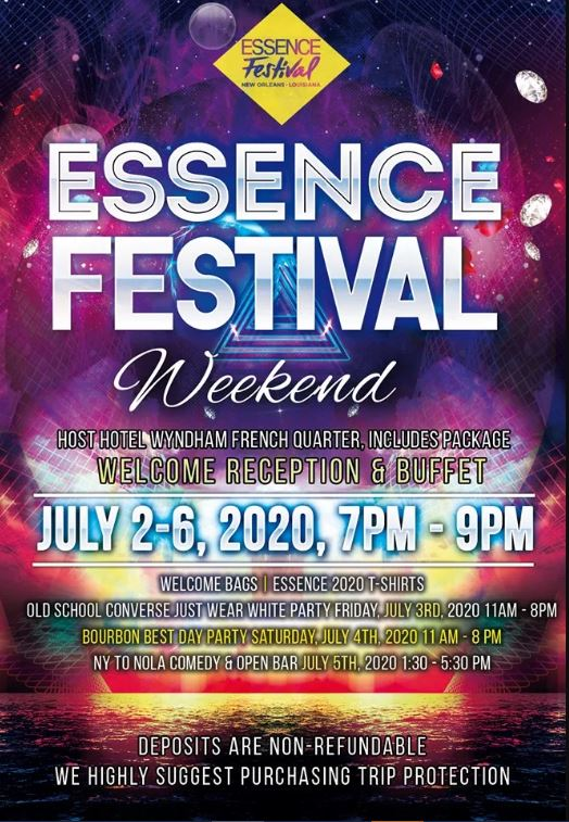 Festival 2020.Essence Festival 2020 Hotel Packages