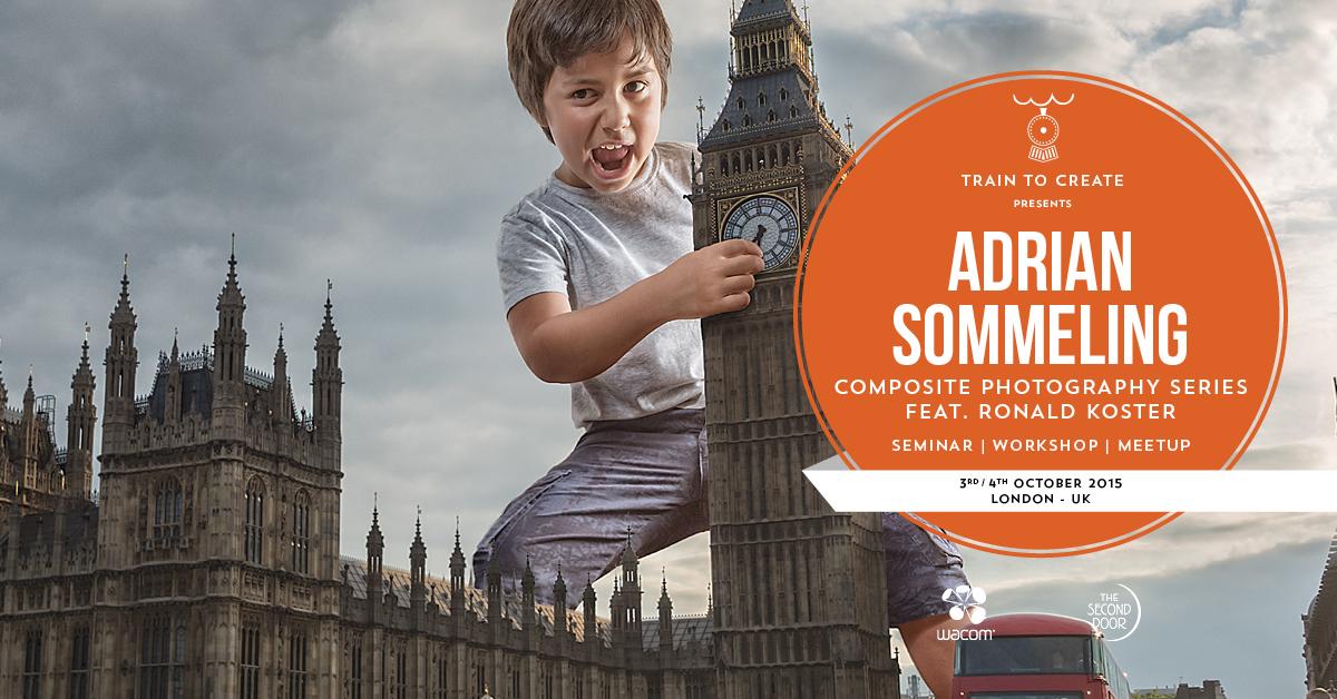 Train to Create - Adrian Sommeling London Workshop