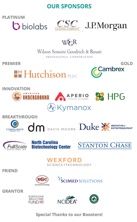 LaunchBio sponsors