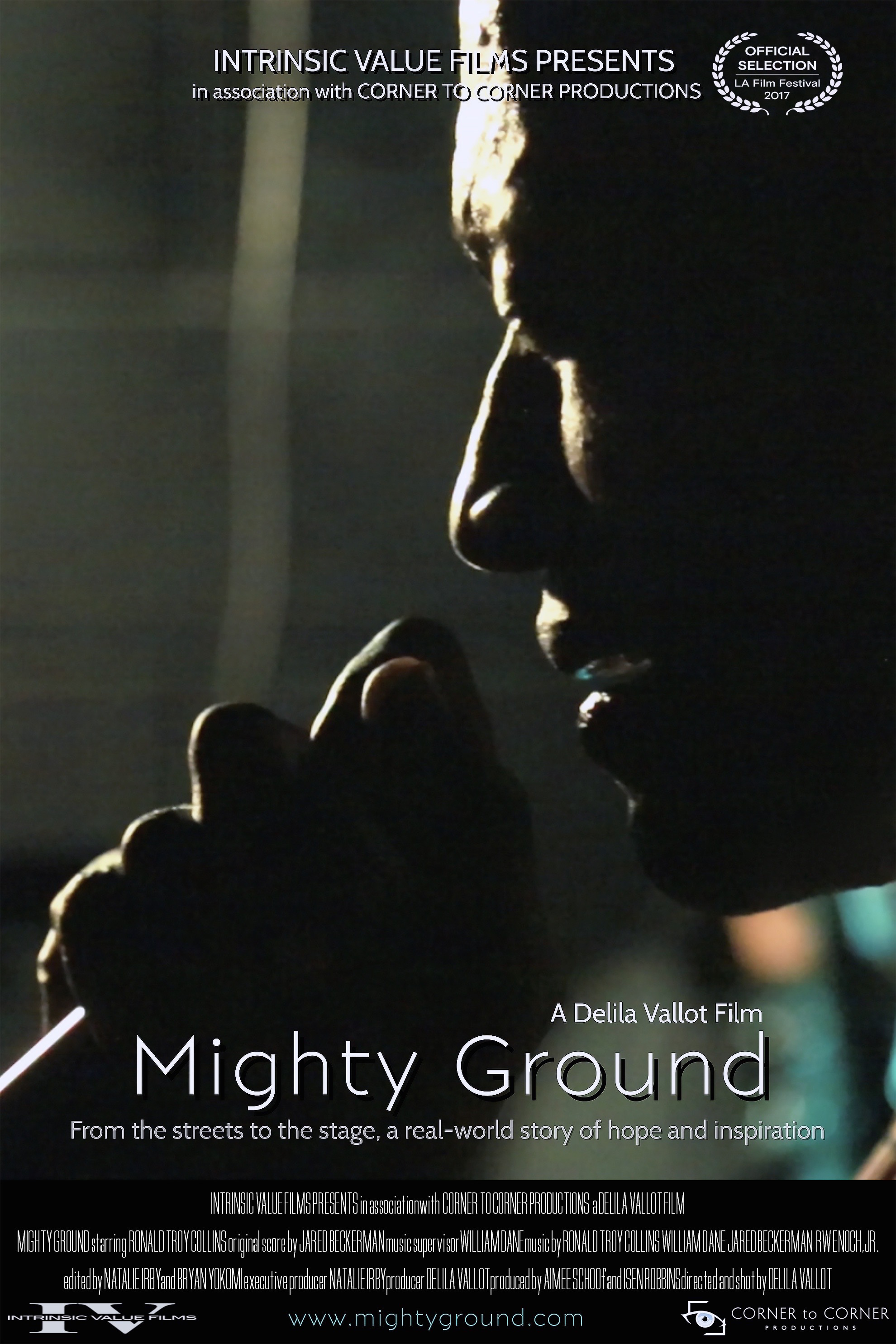 Mighty Ground Poster