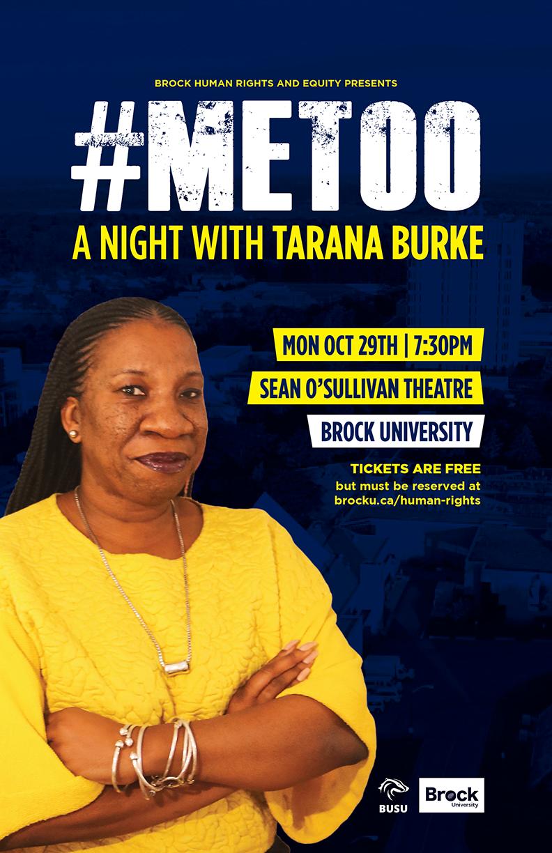 #MeToo: An Evening With Tarana Burke Poster