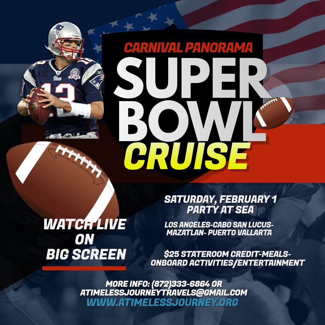 Super Bowl 2020 Schedule Of Events Super Bowl 2020 At Sea Tickets, Sat, Feb 1, 2020 at 4:00 PM