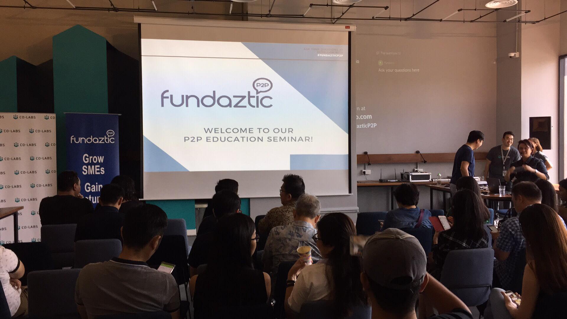 Fundaztic P2P Event