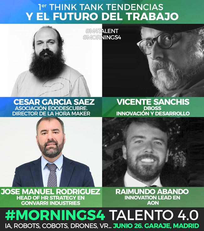 Mornings4 Talent ponentes