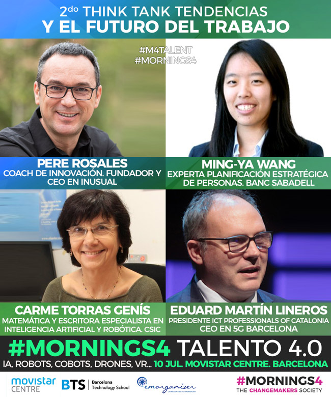 Mornings4 Talent ponentes
