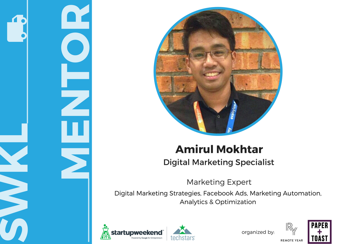 Amirul is a data-driven Digital Marketer with 6 years of experience helping small businesses build scalable growth engines by implementing digital marketing strategies. He has handled more than RM400,000 in total of online advertising spend.