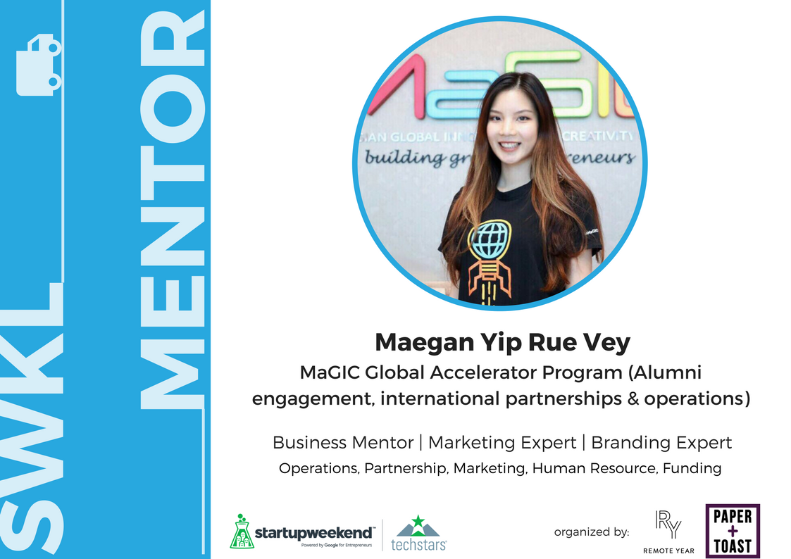 As a child, Maegan grew up in 7 different countries and discovered her eclectic interests in Social, Cultural & Tech affairs. Active in community events & hackathons, she is passionate about helping startups scale into ASEAN. She handles Alumni Engagement, operations, marketing & partnerships. Prior to MaGIC, She has worked for an NGO & tech consultancy firm with additional experiences in Digital Marketing & Business Development.   Prior to MaGIC , Maegan has worked for an NGO and tech consultancy firm with additional experiences in Digital Marketing & Business Development. She holds a Bachelors of Science in Business Management from Queen Mary University of London.