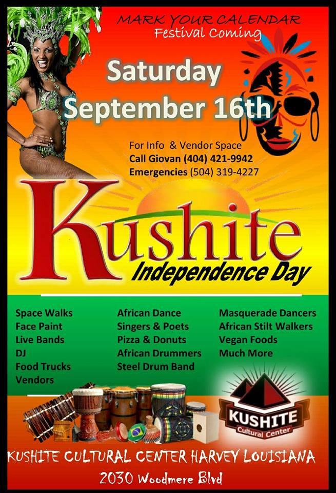 Kushite Independence Mark Your Calendar