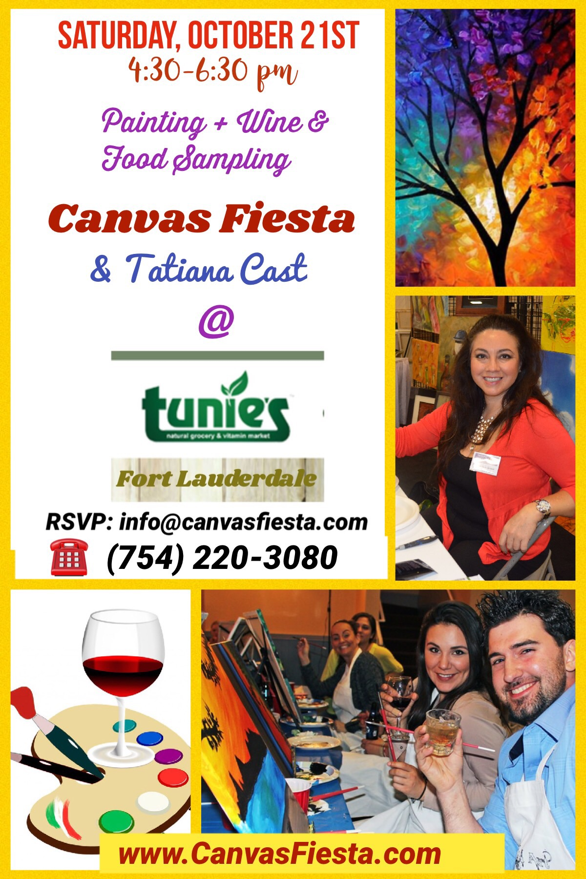 Canvas Fiesta at Tunies FLL-Oct21