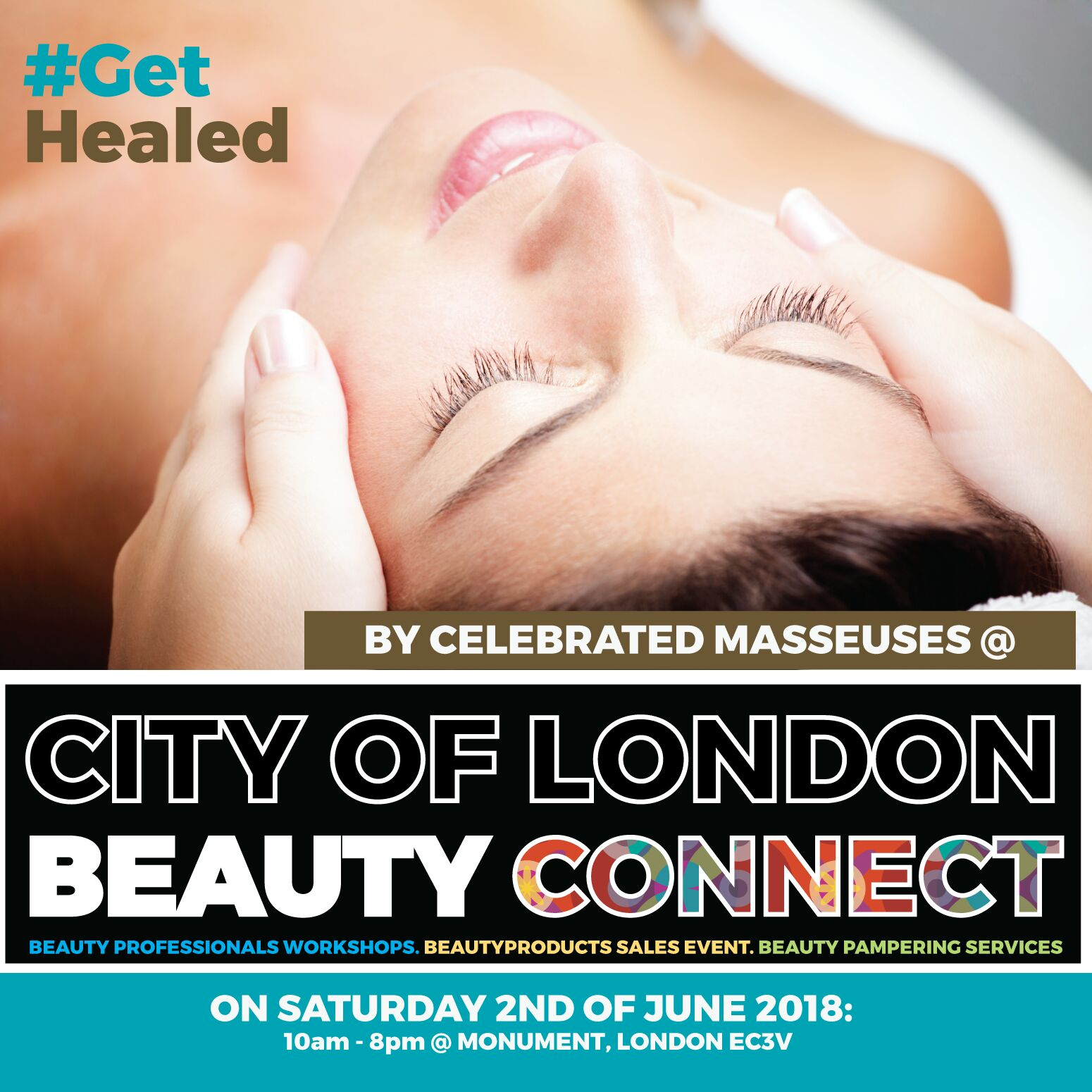 Be Healed By Beauty Experts @ Monument City of London