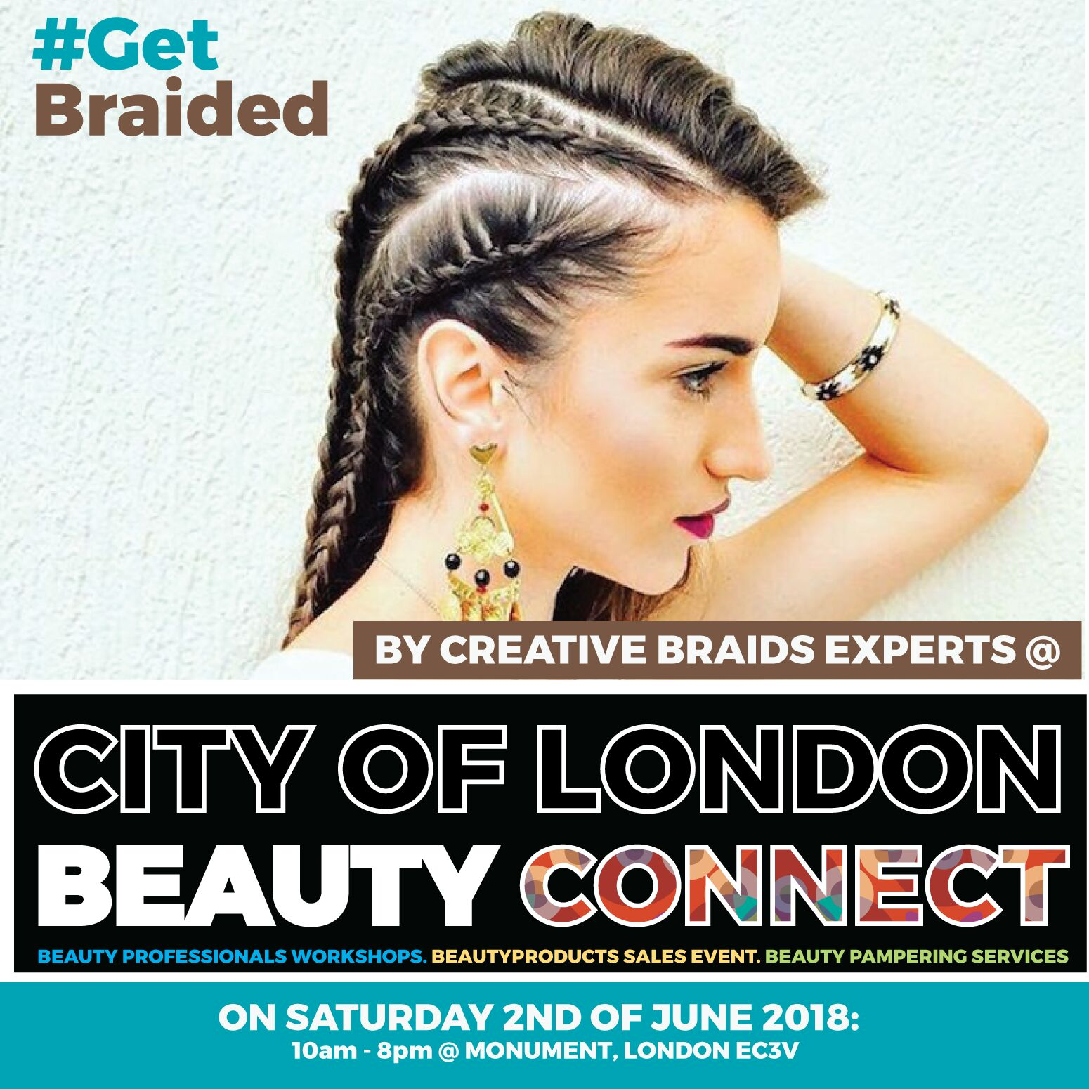 Be braided By Beauty Experts @ Monument City of London