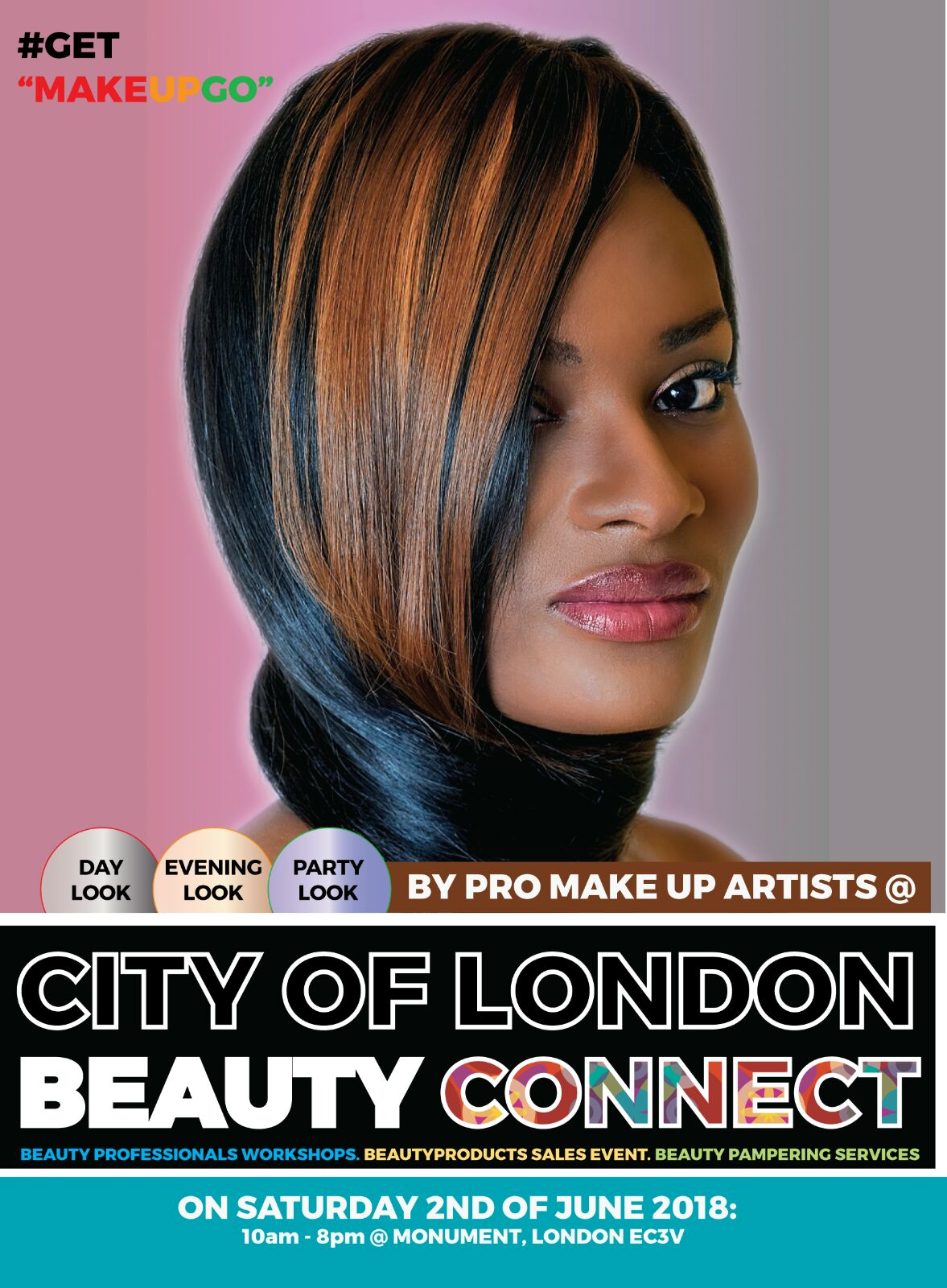 be made up By mua Experts @ Monument City of London