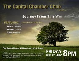 The Capital Chamber Choir presents: Journey From This World