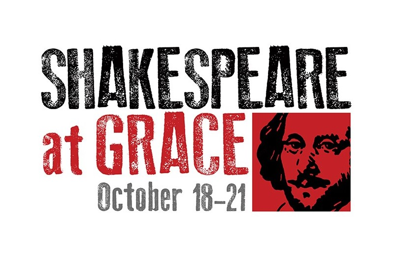 Shakespeare at Grace logo