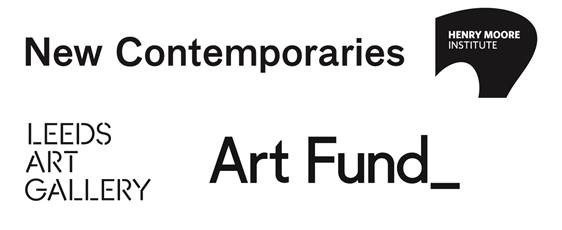 Logos: New Contemporaries, Henry Moore Institute, Leeds Art Gallery, Art Fund