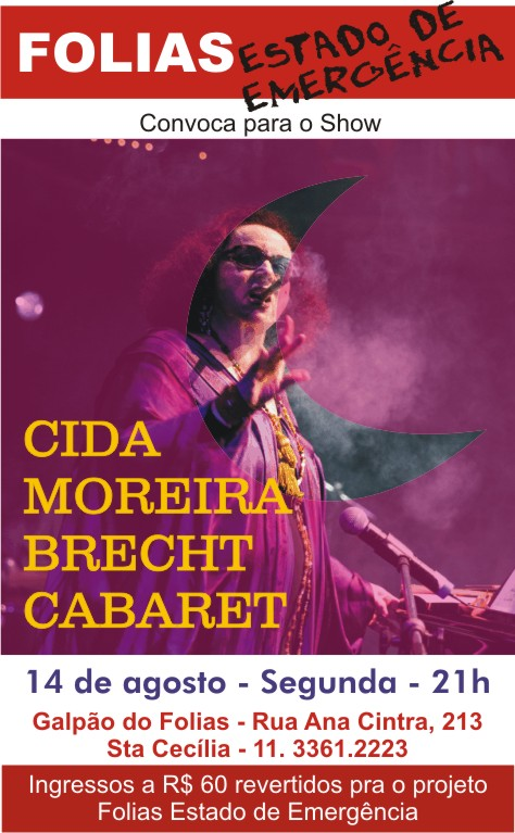Cida Moreira Cabaret Brecht