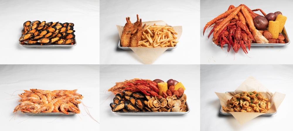 seafood preview of menu