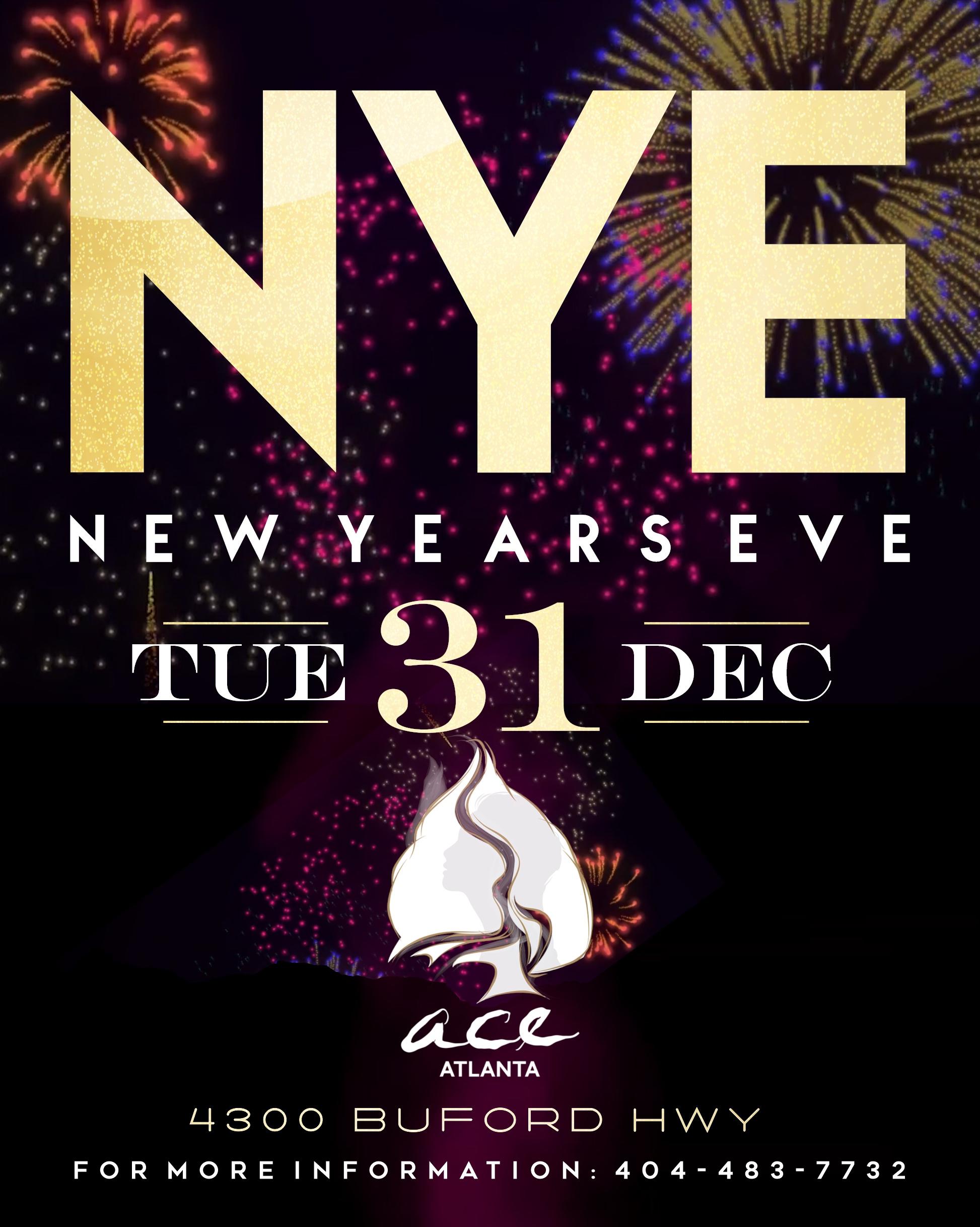 Atlanta New Years Eve 2020.The Biggest New Years Eve Celebration Ace Atlanta Nye 2020
