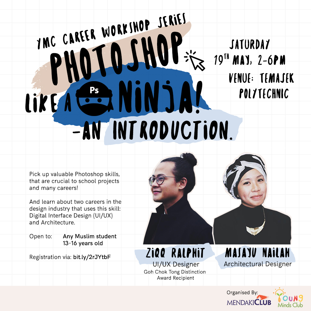 YMC Career Workshop Series: Photoshop Like a Ninja - An Introduction