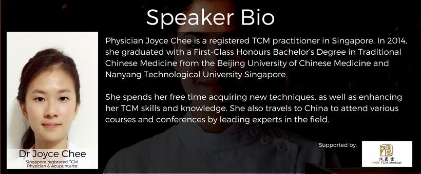 Dr Joyce Chee Speaker bio