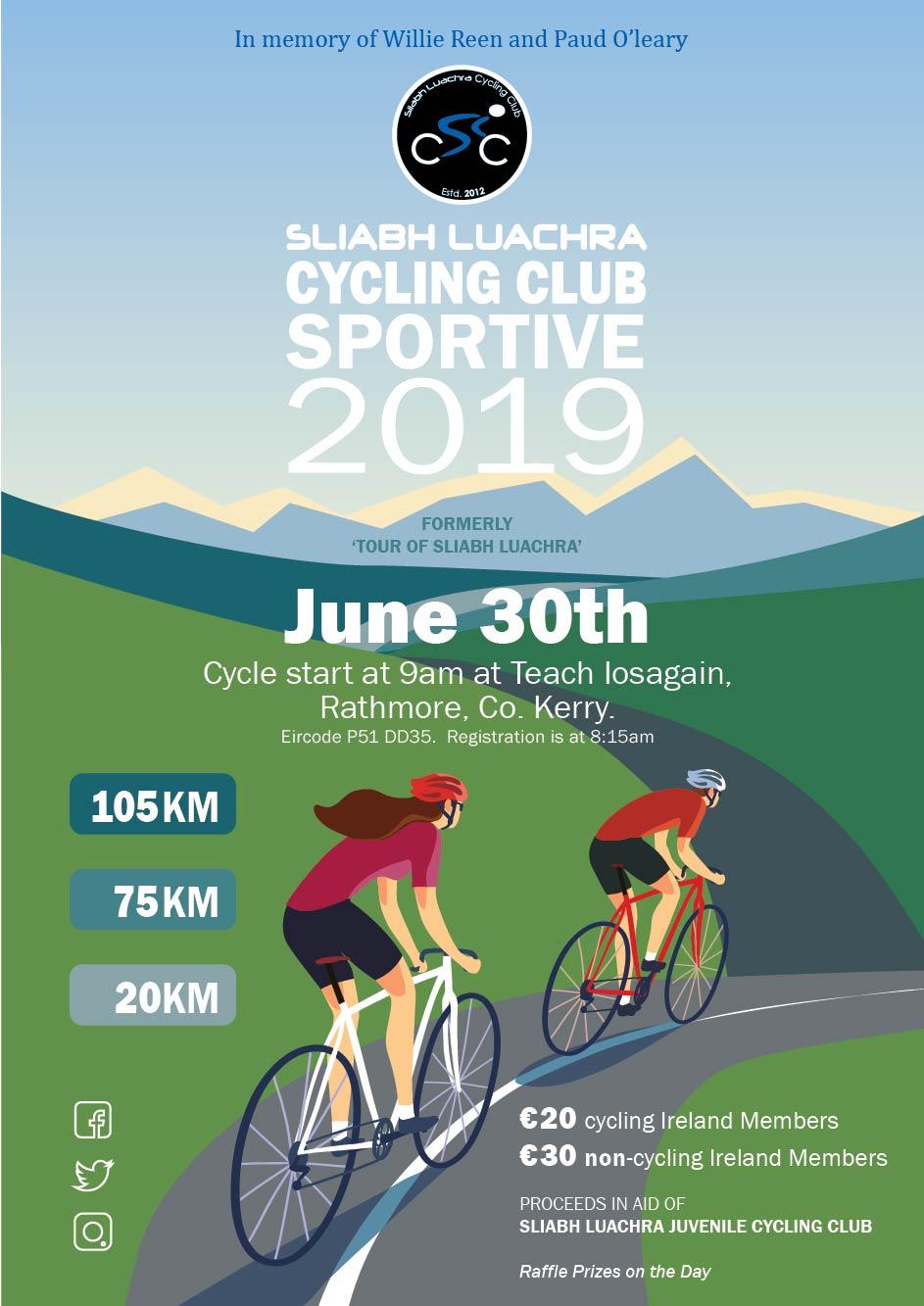 Sliabh Luachra CC Sportive 2019