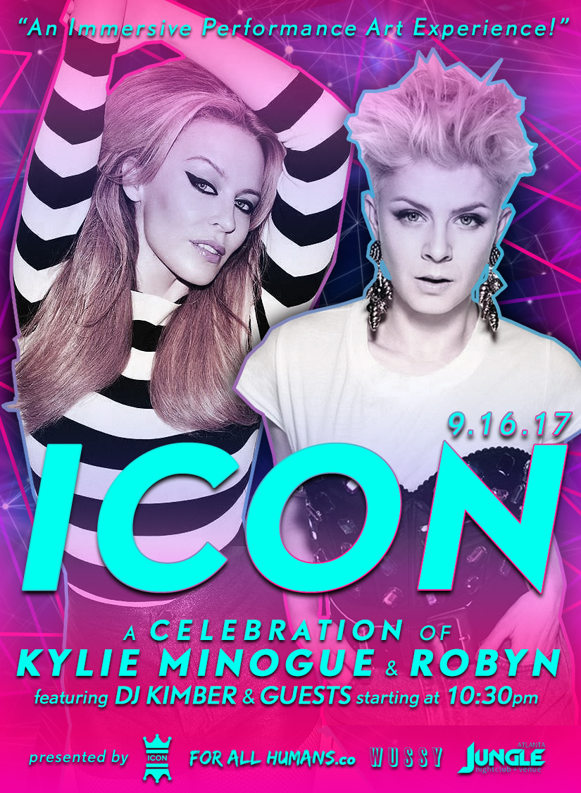 ICON a celebration of Kylie Minogue & Robyn