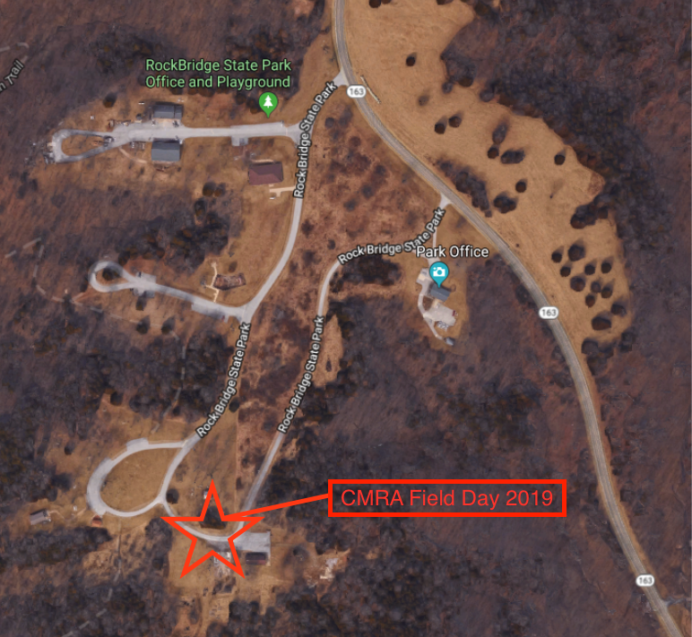 CMRA Field Day 2019 Map