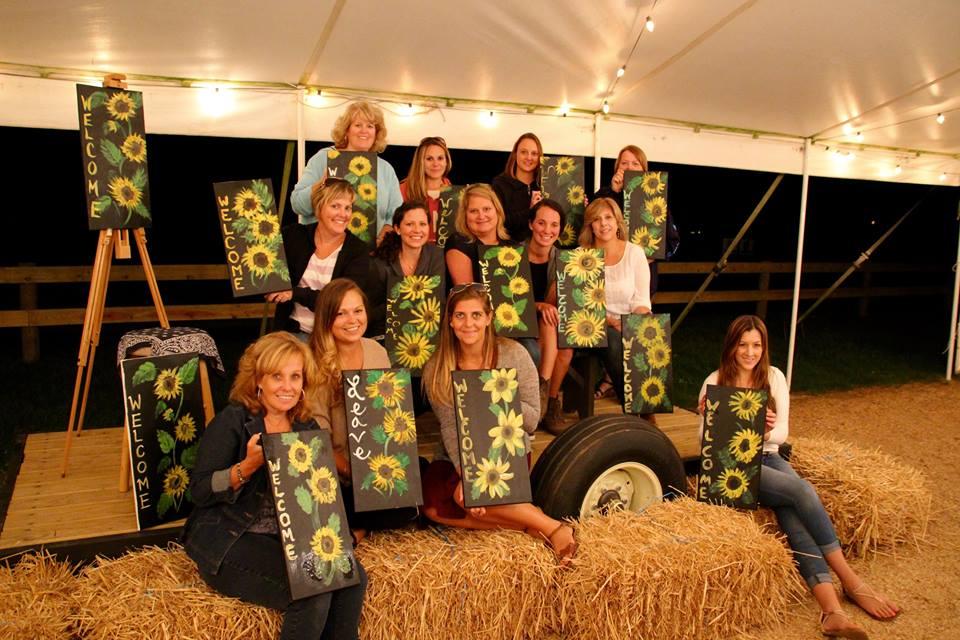 Sunflower Pick-n-Paint Group 2016