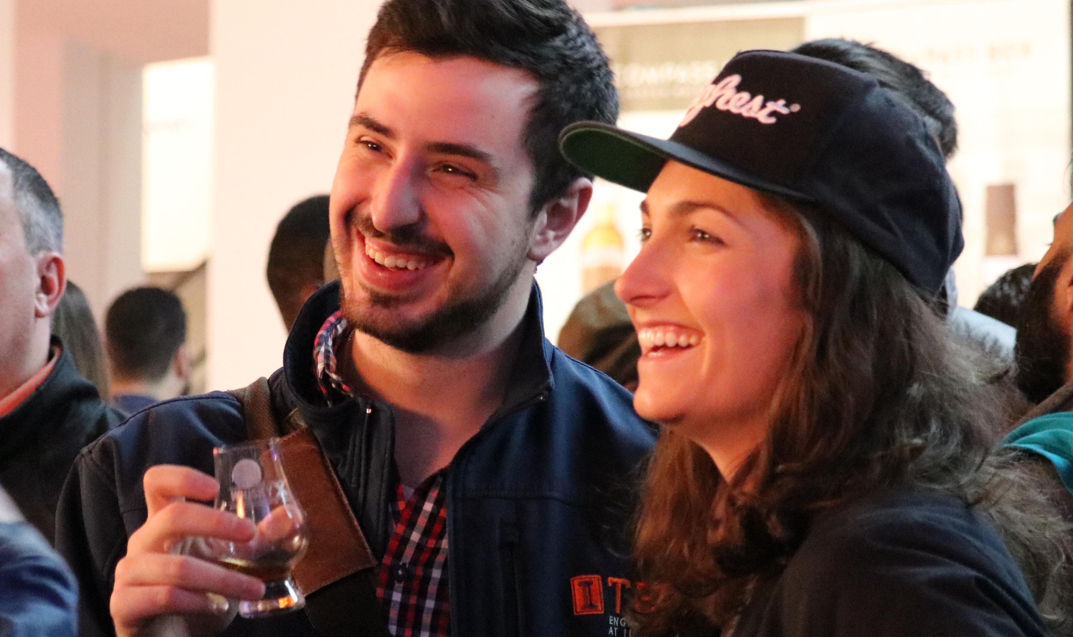 WhiskyX Happy Couple