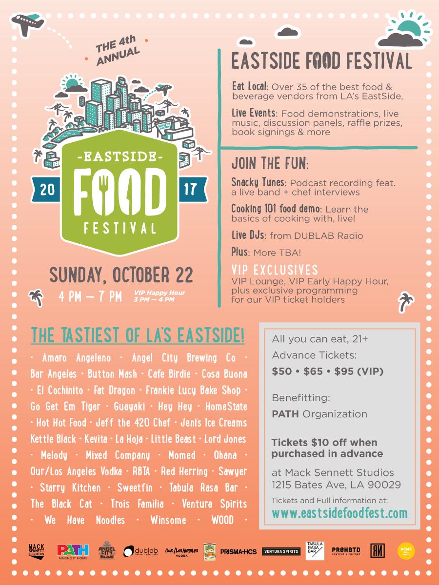 eastside food fest flyer