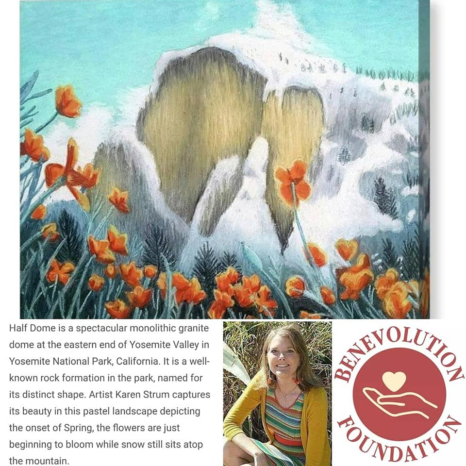 Artist For Good Karen Strum Half Dome story