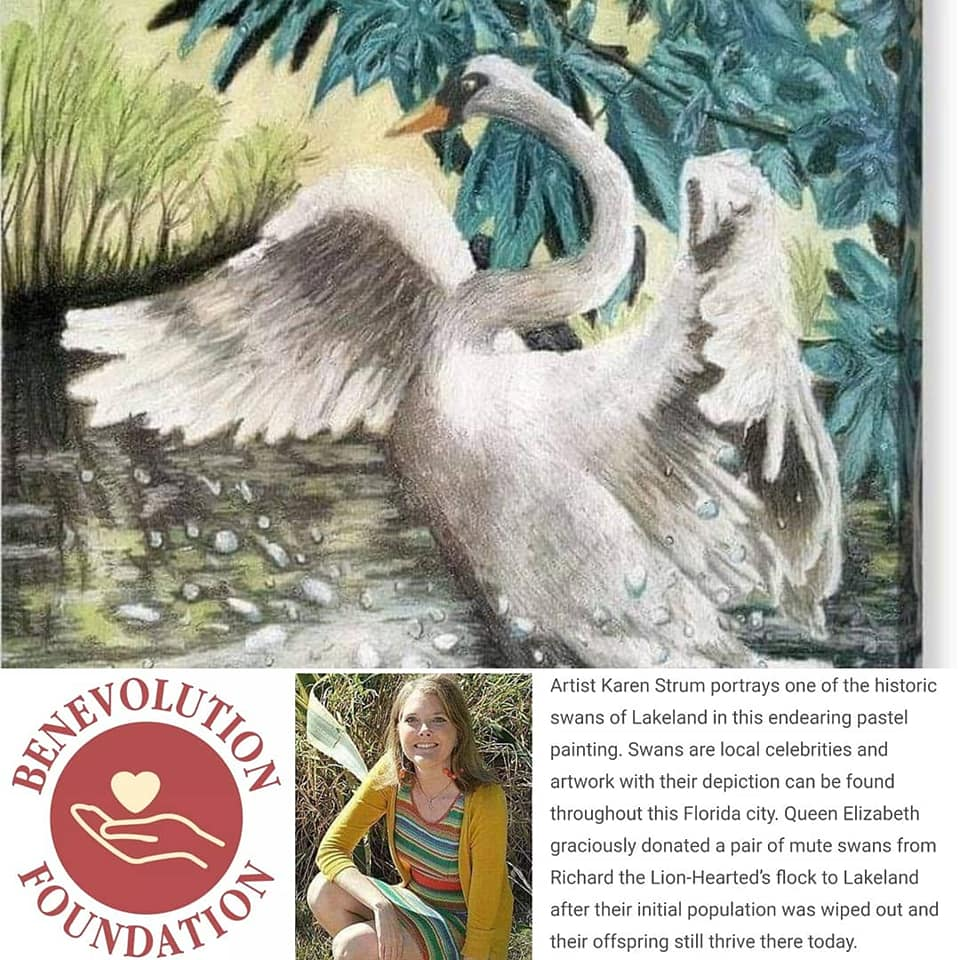 Karen Strum Artist For Good Swan Story