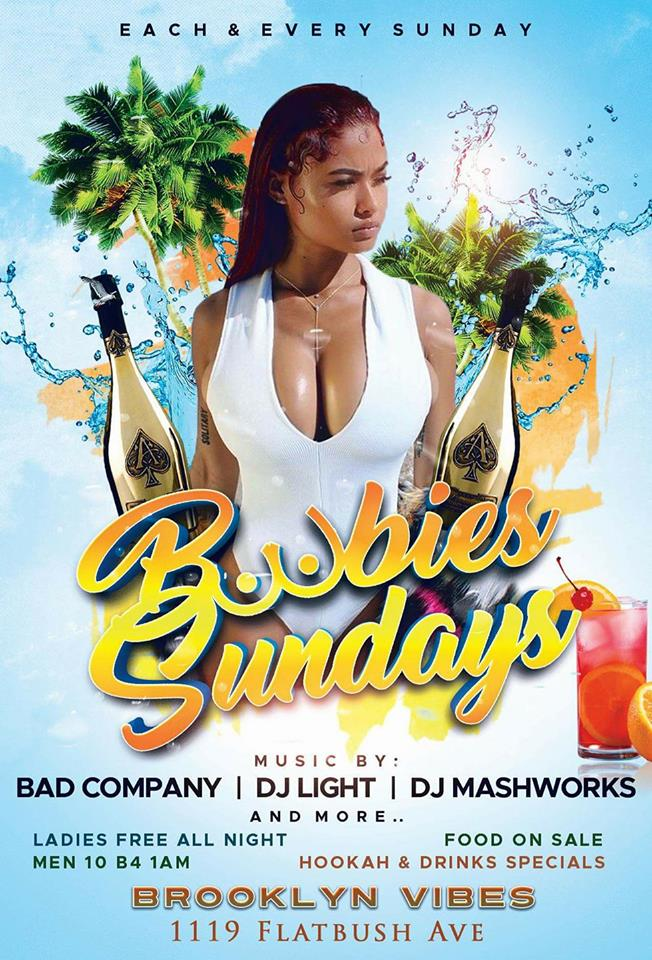 Each & Every Sunday Ladies Free all night with RSVP