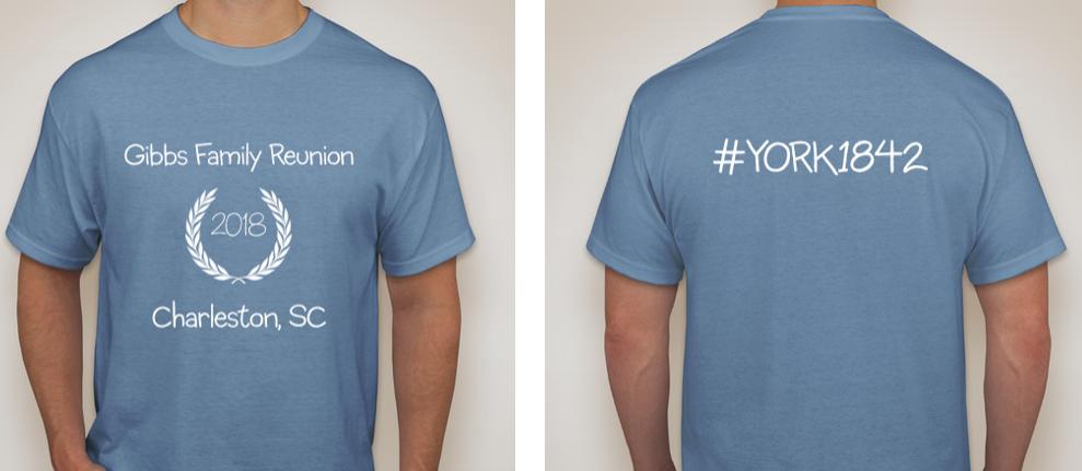2018 Gibbs Reunion T-Shirt