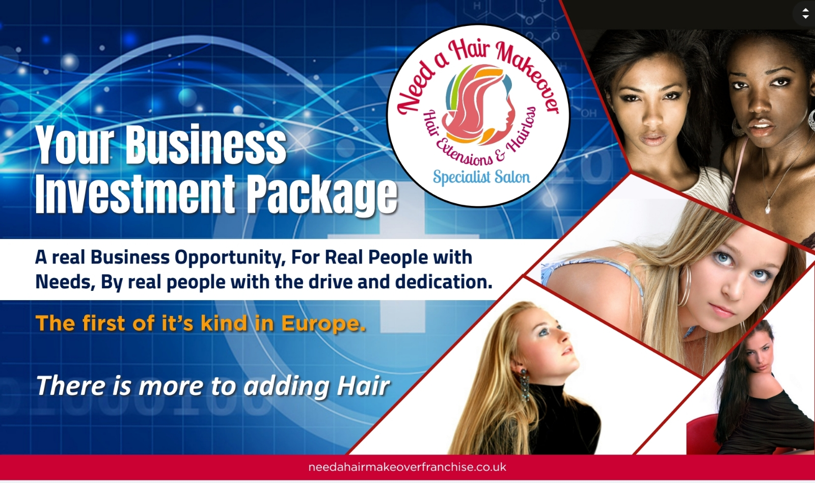Hair extensions and hair loss franchise opportunity