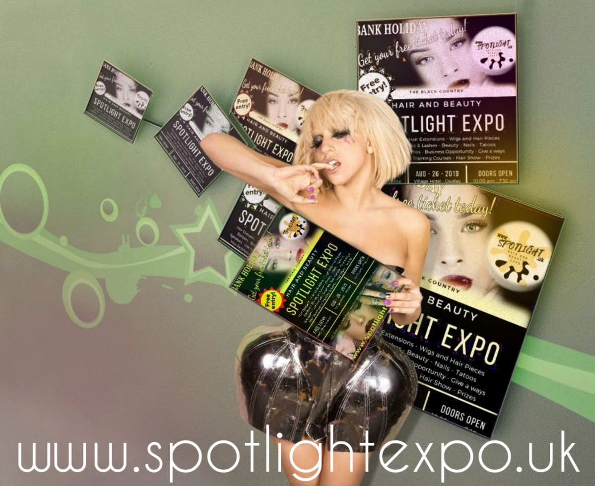 Book your hair and beauty show ticket at spotlightexpo 26th august village hotel dudley