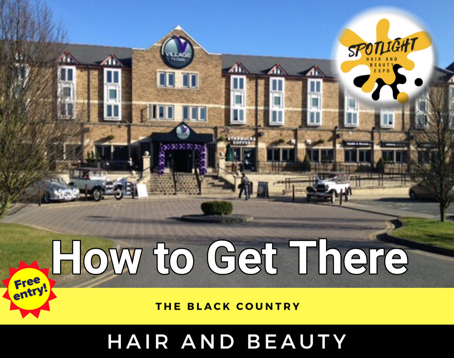 How to get to the spotlightexpo show at the village hotel