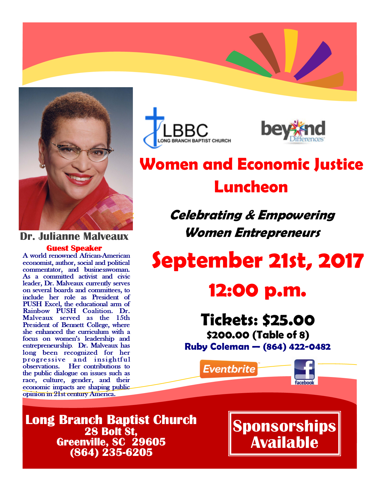 Women and Economic Justice Luncheon