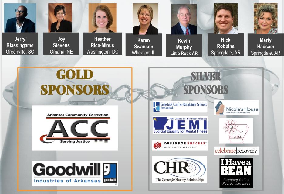 Speakers & Sponsors - 6-11-18