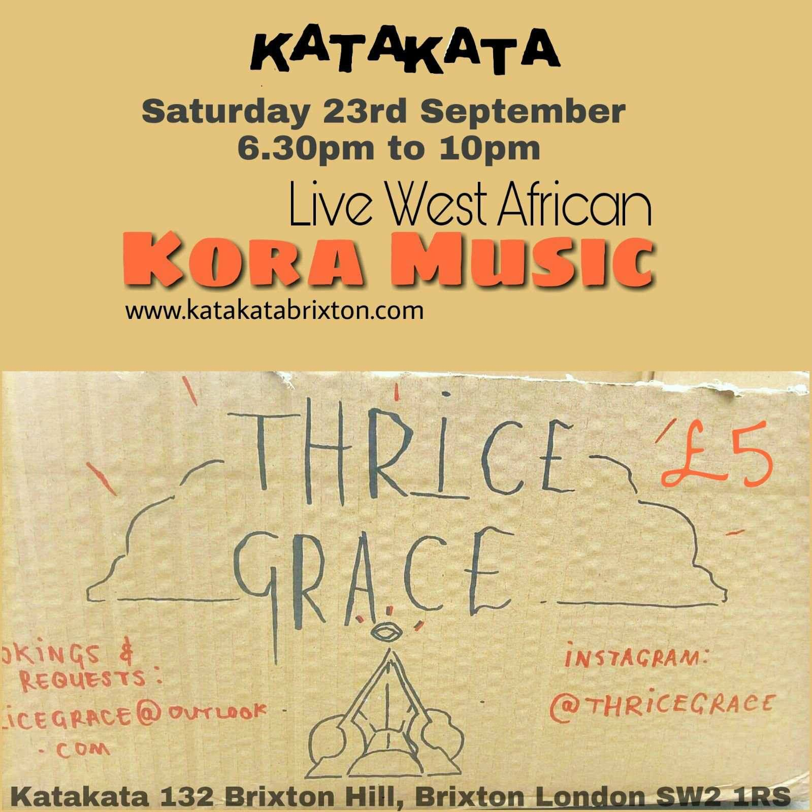 West African Kora music with Thrice Grace