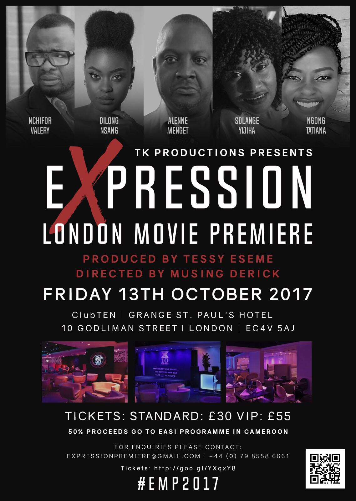 Expression the Movie London Premiere