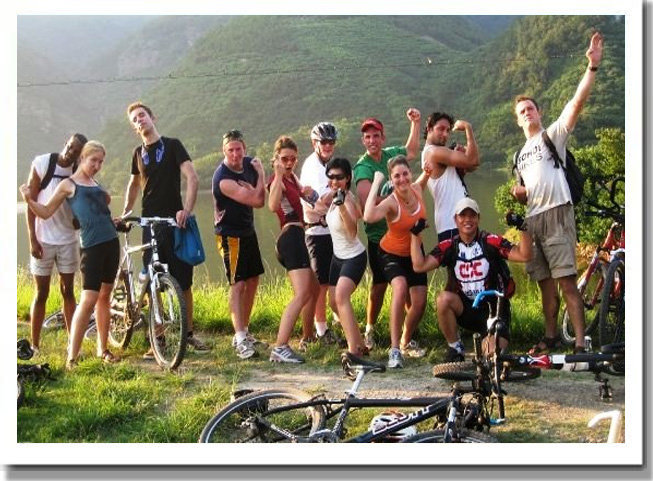 bicycle trip-Group Photo