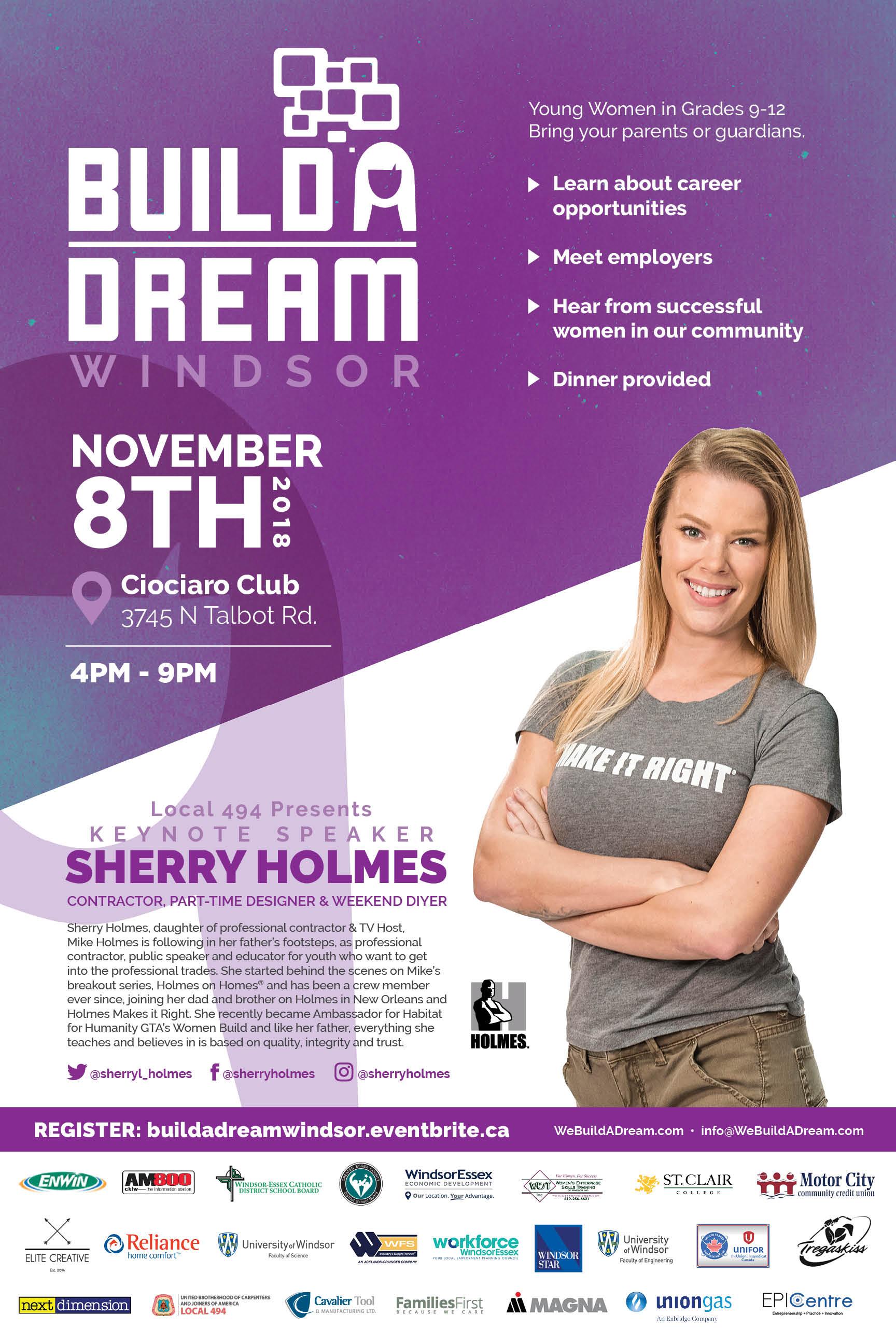 Build A Dream Event Poster