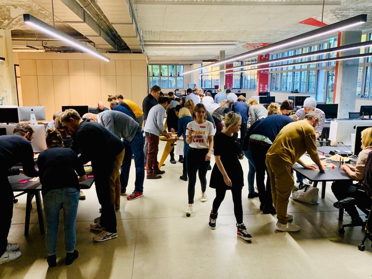 Hyper Island Workshop at Hinderling Volkart – Impressions