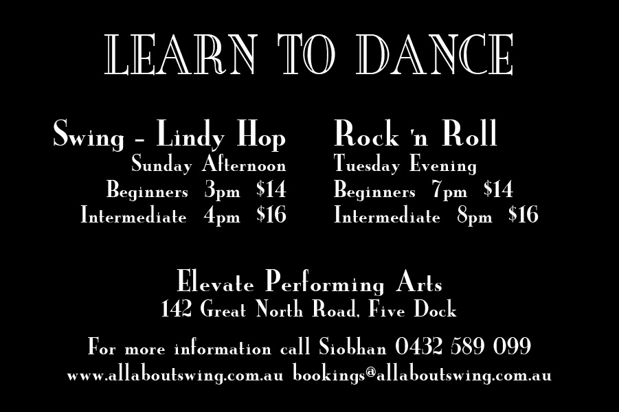 All About Swing - Learn to Swing Dance