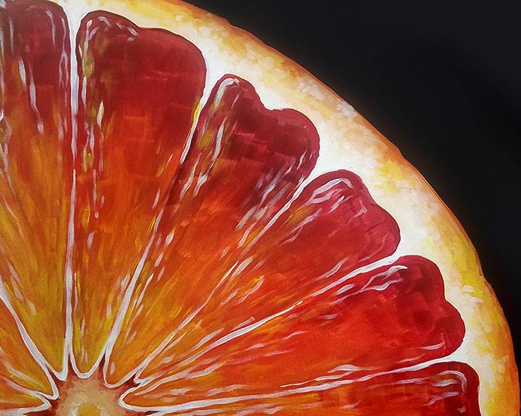 Sunset Citrus Paint and Sip