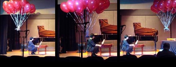 Jennifer Hymer and Balloons