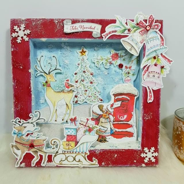 Diorama de Navidad Milbby y Nesi