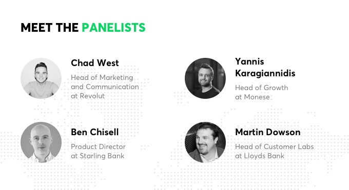 Fintech London Disruption Forum 2018 Panelists